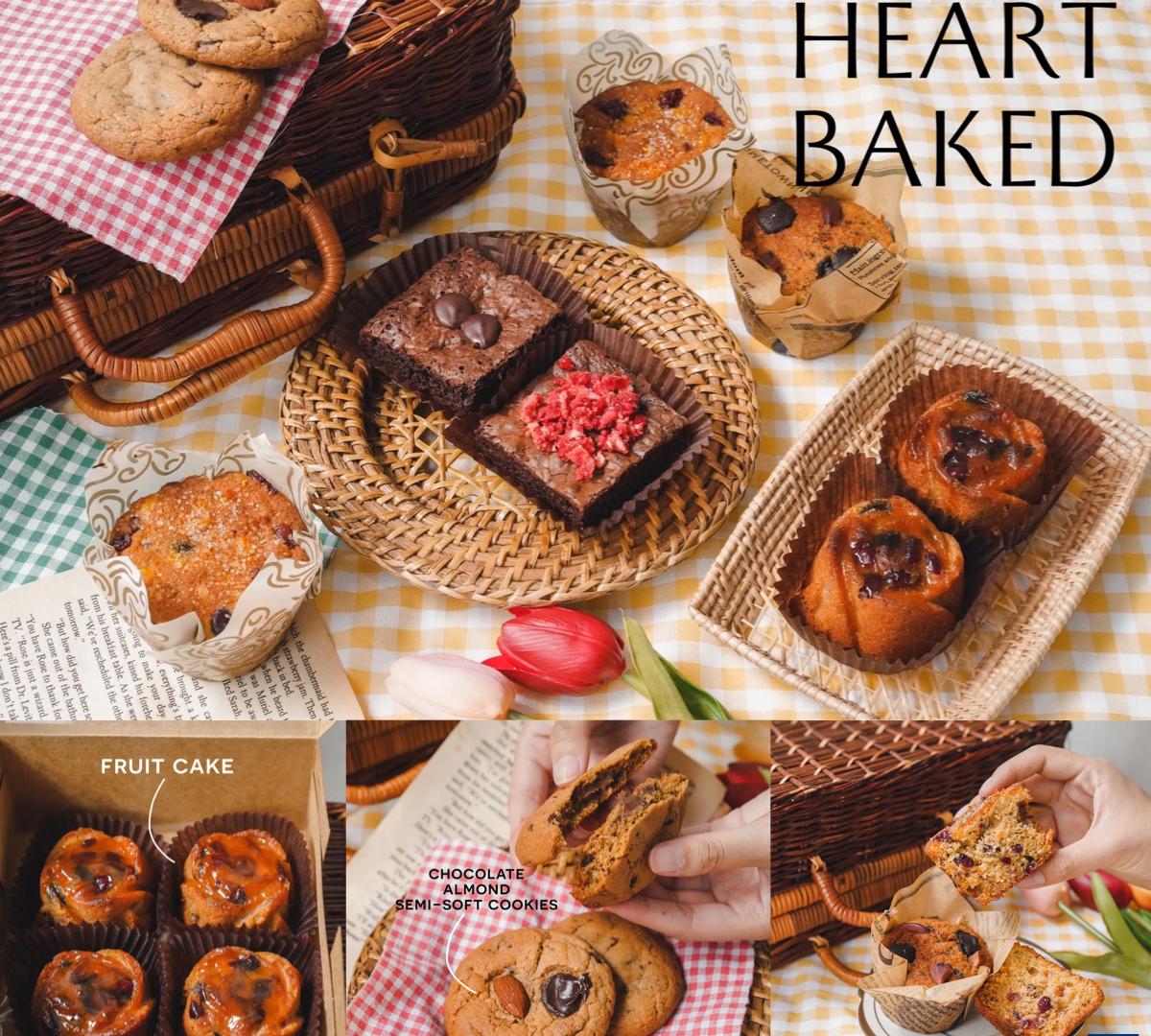 Heart-baked